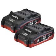 Metabo 625343000PK2 Pack of 2 Metabo 18v 3.1Ah LiHD Batteries