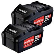 Metabo 625527000 Metabo 18v 4.0Ah Li-ion Battery Twinpack
