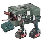 Metabo COMBO SET 2.1.6 18v 2 Piece Kit with 2 x 5.2Ah Batteries, Charger and Case