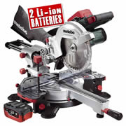 Metabo KGS 18 LTX2 16 Metabo 18v LiHD 216mm Cordless Mitre Saw