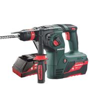 Metabo KHA 36 LTX 36v SDS+ Drill with 2 x 2.6Ah Batteries, Charger and Case