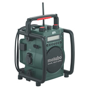 Metabo METRC14418 Metabo Cordless 14.4v-18v Worksite Radio & Charger
