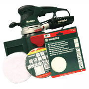 Metabo SXE450PP Metabo 150mm Random Orbital Sander