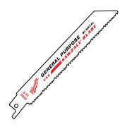 Milwaukee 48005094 Milwaukee Sawzall Sabre Saw Blade Wood/Plastic/Metal 300mm - Pack of 5