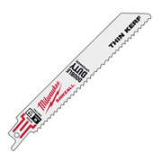 Milwaukee 4800186 Milwaukee Sawzall Thin Kerf Sabre Blades Metal 150mm - Pack of 5