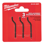 Milwaukee 48224257 Reaming Blades - Pack of 3