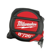 Milwaukee 48225225 Milwaukee 8m/25ft Tape Measure