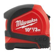 Milwaukee 48226602 Tape Measure With LED 3m/10ft