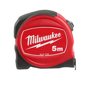 Milwaukee 48227706 Slimline S5/25 Tape Measure 5m
