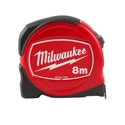 Milwaukee 48227708 Slimline S8/25 Tape Measure 8m