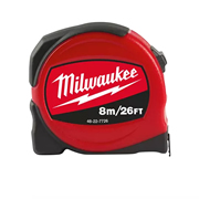 Milwaukee 48227726 Slimline S8-26/25 Tape Measure 8m/26ft