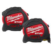 Milwaukee 48229905PK2 STUD Tape Measure 5m - Pack of 2