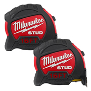Milwaukee 48229917PK2 STUD Tape Measure 5m/16ft - Pack of 2