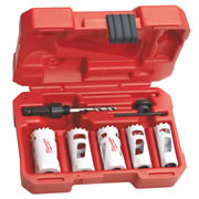 Milwaukee 49224083 Milwaukee 7 Piece Hole Saw Set