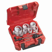 Milwaukee 49224152 Milwaukee 14 Piece Hole Saw Kit