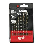 Milwaukee 4932352335 Multimaterial Drill Bits - 7pcs