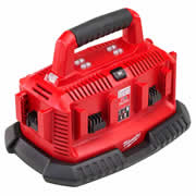 Milwaukee M1418C6 M14-M18 Multibay Charger - 110v