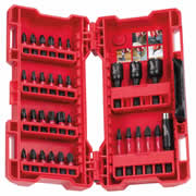 Milwaukee 4932430905 Milwaukee Shockwave 33 Screwdriver Bit & Nut Driver Bit Set