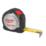Milwaukee 4932451641 Milwaukee 5m/16' Compact Line Tape Measure C5-16/25