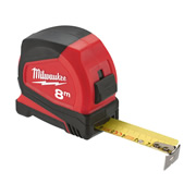 Milwaukee 4932459596 Pro Compact Tape Measure 8m/26ft