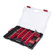 Milwaukee 4932464146 Heavy Duty Accessory Box 100 Piece Bit Set