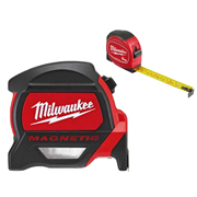Milwaukee 4932464179 Tape Measure 8m/26ft + Mini Tape 3m Pack