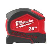 Milwaukee 4932464664 Tape Measure Autolock 8m Metric