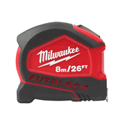 Milwaukee 4932464666 Tape Measure Autolock 8m/26ft