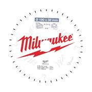 Milwaukee 4932471314 Milwaukee 190mm 40T Wood Cutting Mitre Saw Blade