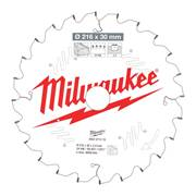 Milwaukee 4932471315 Milwaukee 216mm 24T Wood Cutting Mitre Saw Blade