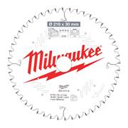 Milwaukee 4932471316 Milwaukee 216mm 48T Wood Cutting Mitre Saw Blade