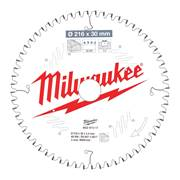 Milwaukee 4932471317 Milwaukee 216mm 60T Wood Cutting Mitre Saw Blade