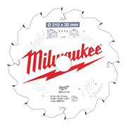 Milwaukee 4932471324 Milwaukee 210mm 16T Wood Cutting Mitre Saw Blade