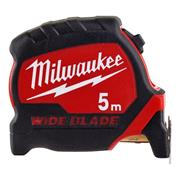 Milwaukee  Milwaukee Premium Wide Blade Tape Measure 5m