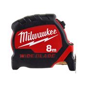Milwaukee  Milwaukee Premium Wide Blade Tape Measure 8m