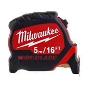 Milwaukee  Milwaukee Premium Wide Blade Tape Measure 5m/16ft