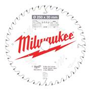 Milwaukee 4932472015 Milwaukee 250mm 40T Wood Cutting Mitre Saw Blade