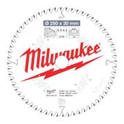 Milwaukee 4932472016 Milwaukee 250mm 60T Wood Cutting Mitre Saw Blade