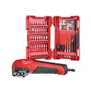 Milwaukee  Milwaukee SHOCKWAVE 40 Pc Screwdriver Bit Set with Right Angle Attachment