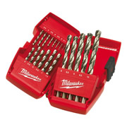 Milwaukee 493252374 Milwaukee 19 Piece HSS Metal Drill Bit Set