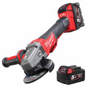 Milwaukee 4933451542 18v Fuel Brushless 115mm Grinder 5.0Ah