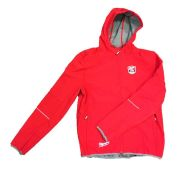 Milwaukee 4939613200 Milwaukee Red Zipped Hoodie