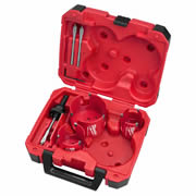 Milwaukee BigHawg Milwaukee BigHawg 7 Piece Hole Cutter Set