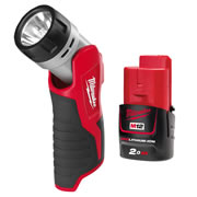 Milwaukee C12BT Milwaukee 12v Li-ion Torch & 2.0Ah Battery
