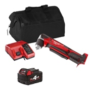 Milwaukee C18RADITS 18v M18 Angle Drill Driver with 1 x 4Ah Battery, Charger and Bag