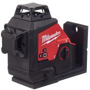 Milwaukee M12 3PL-401C Milwaukee M12 3PL-401C 12V Green 360° 3 Plane Laser, with 1 x 4Ah Battery, Charger and Case