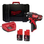 Milwaukee M12BD202C Milwaukee 12v RED Li-ion Compact Driver