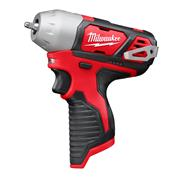 "Milwaukee M12BIW140 12v RED Li-ion 1/4"" Impact Wrench - Body"