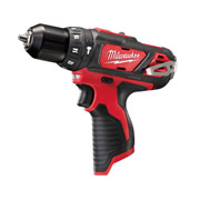 Milwaukee M12BPD0 Milwaukee 12v RED Li-ion Hammer Drill Driver Body
