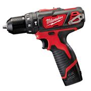 Milwaukee M12BPD202C Milwaukee 12v RED Li-ion Hammer Drill Driver